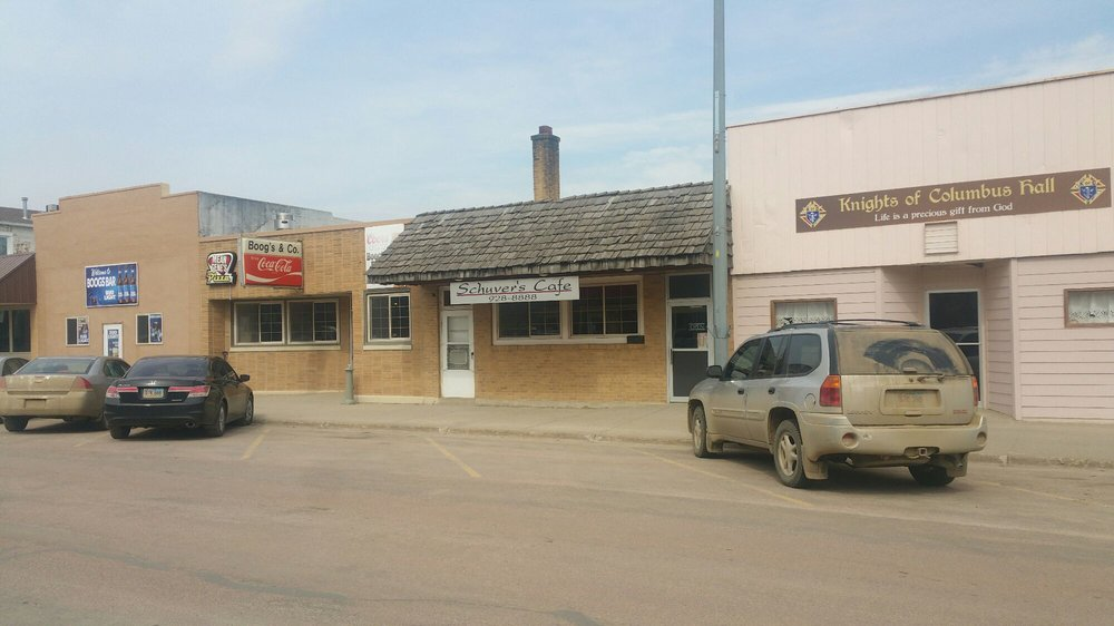 Shuver's Cafe: 111 E Main St, Parkston, SD