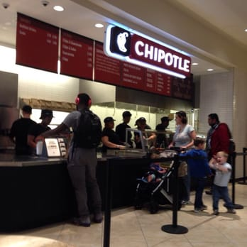 Chipotle King Of Prussia Mall Food Court