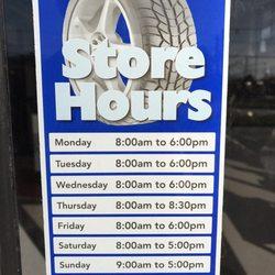 Discount Tire Hours Sunday >> Mavis Discount Tire 50 Reviews Tires 291 E Hanover Ave