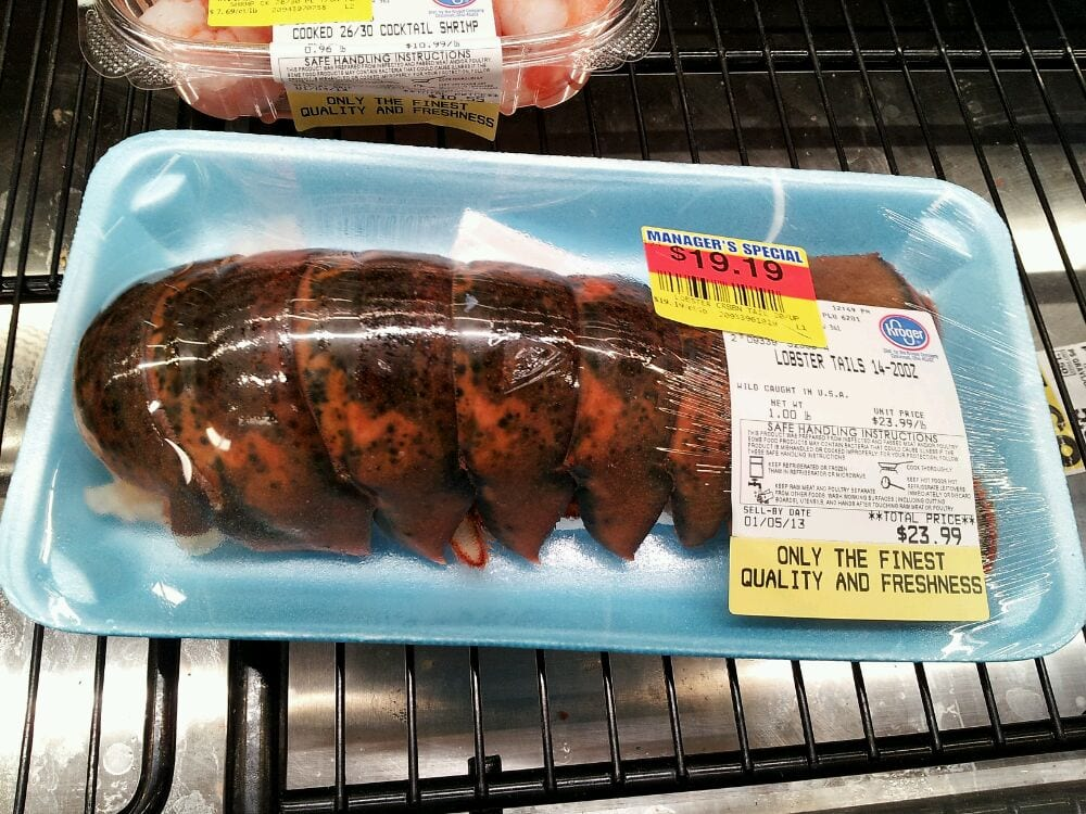 Giant lobster tails! - Yelp