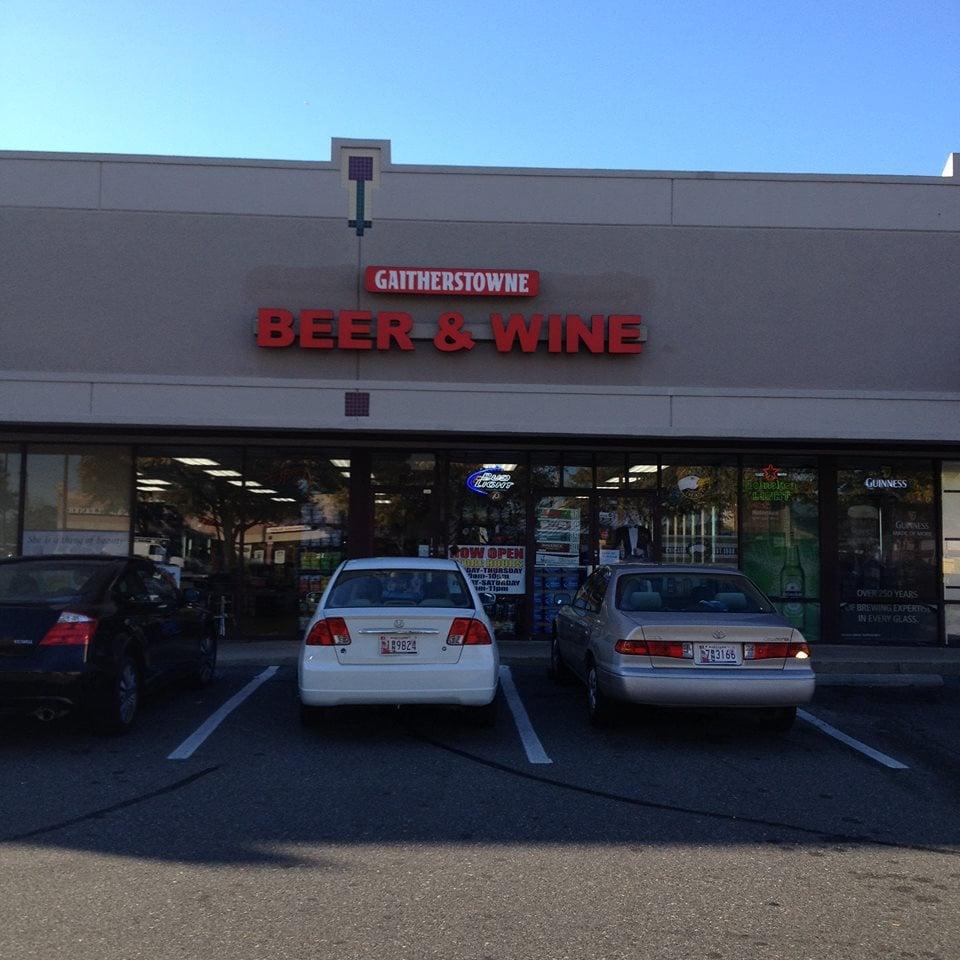 Gaitherstowne Beer & Wine: 296 N Frederick Ave, Gaithersburg, MD