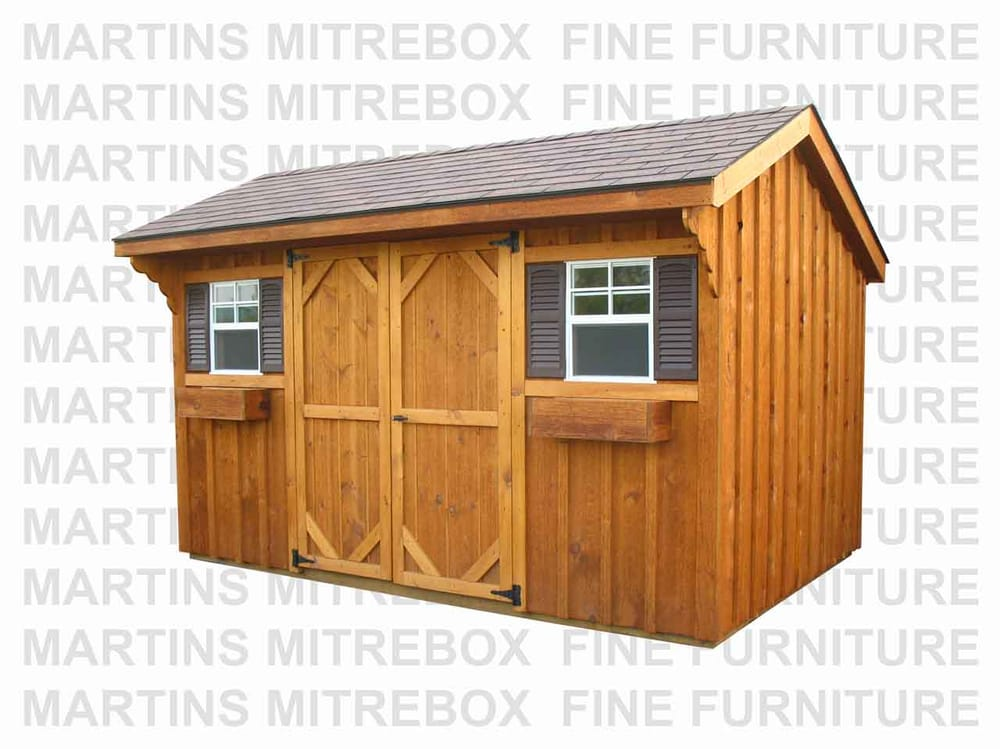 Photo Of Martin S Mitrebox Parry Sound On Canada Mennonite Built Storage Sheds