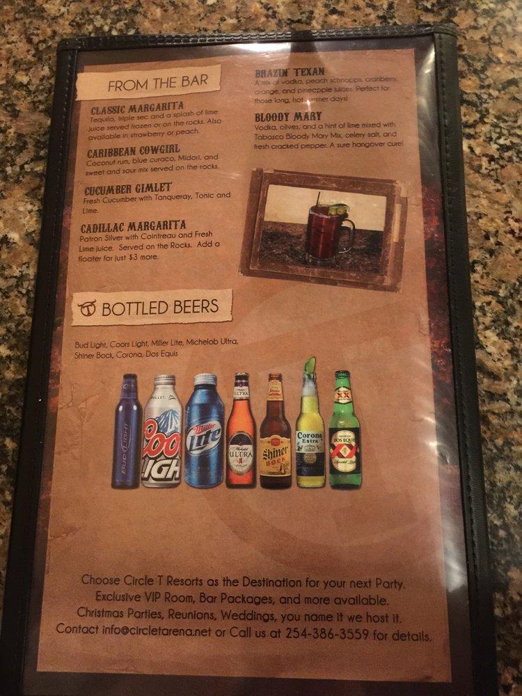Crossfire Steakhouse & Cantina: 4007 W Hwy 36, Hamilton, TX