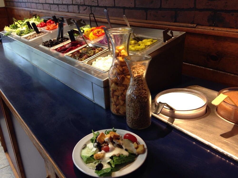 Photo of La Val's Pizza - Alameda, CA, United States. Free Salad Bar