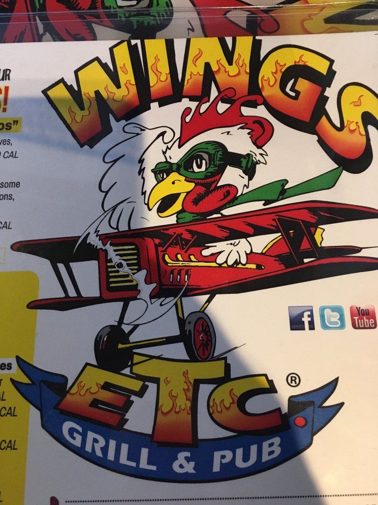 Wings Etc Grill & Pub: 1401 W McGalliard Rd, Muncie, IN