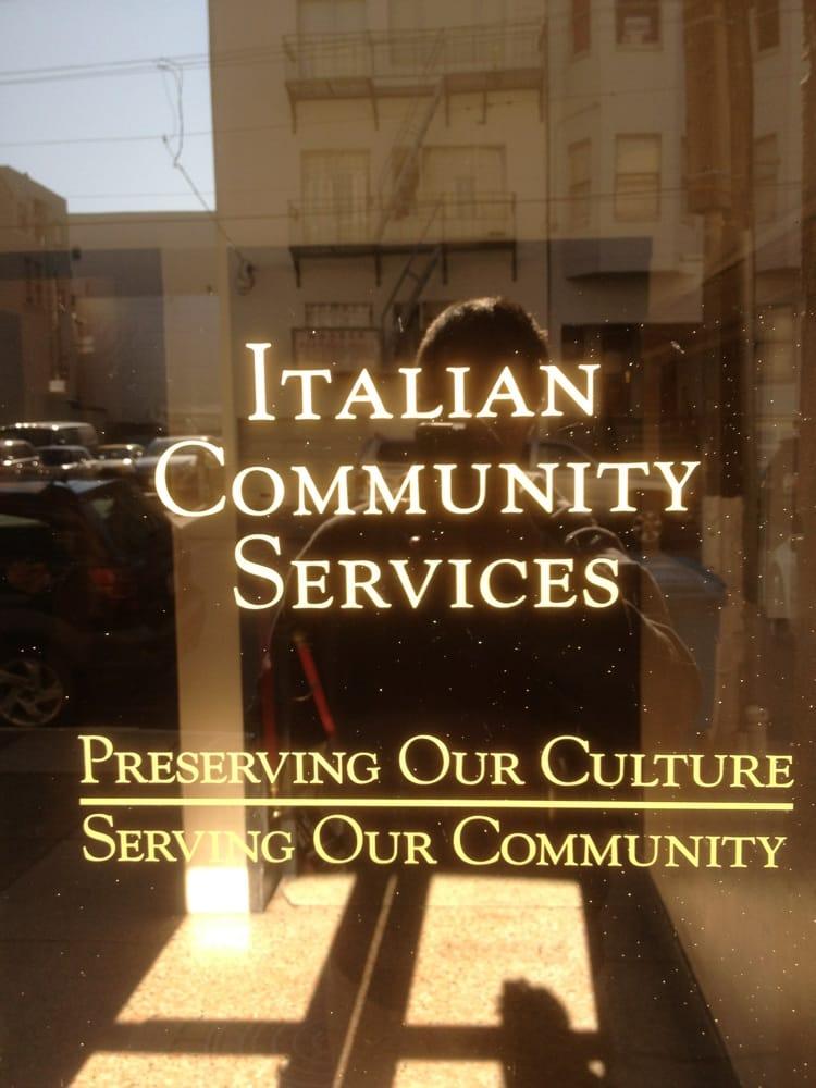 Italian-American Community Services Agency: 678 Green St, San Francisco, CA