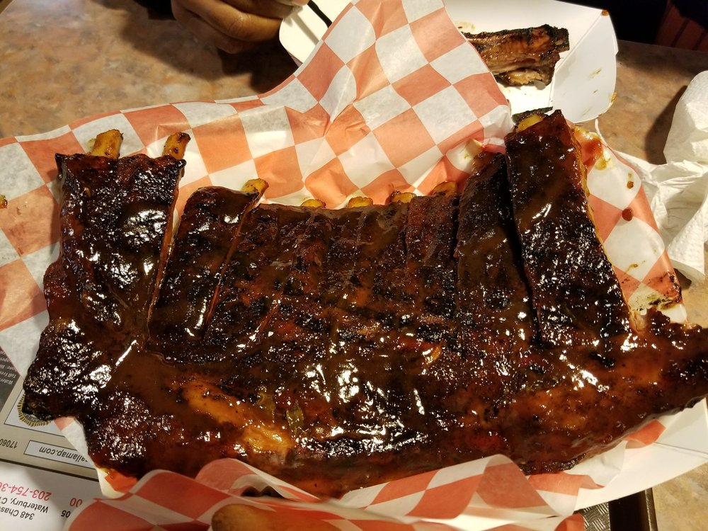 Big Frank's Barbeque & Grill: 572 Watertown Ave, Waterbury, CT