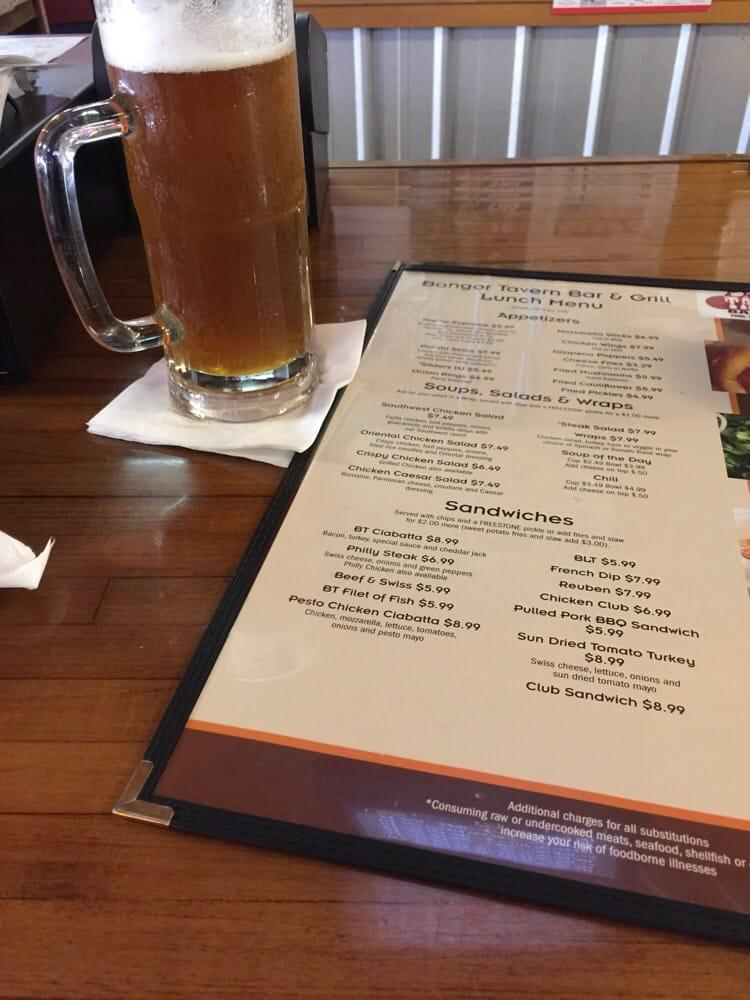 Bangor Tavern Bar & Grill: 233 W Monroe St, Bangor, MI