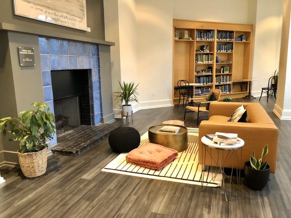 The Library Coffee Bar: 820 E 67th St, Indianapolis, IN