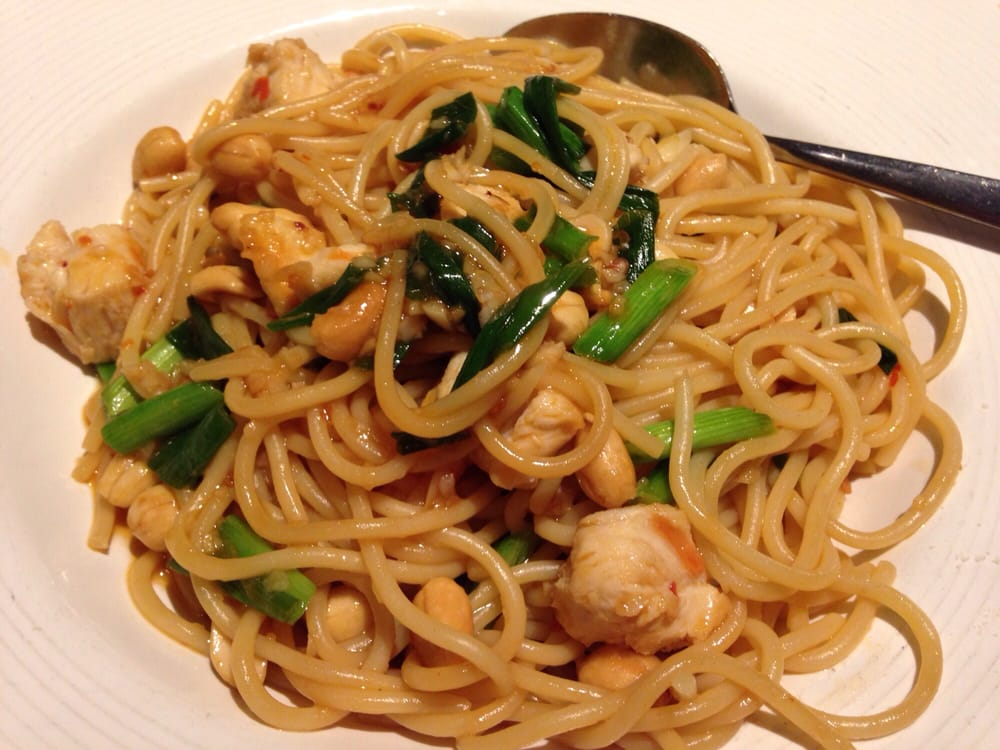 Kung Pao Spaghetti California Pizza Kitchen Review