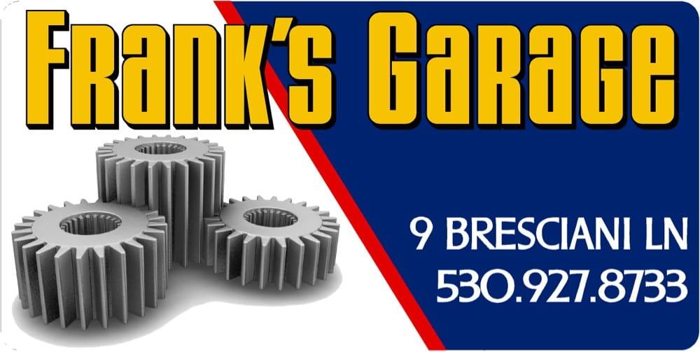 Frank's Garage: 270 Crescent St, Quincy, CA