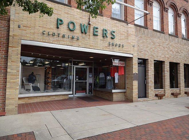 Powers Clothing: 227 E Chicago St, Jonesville, MI