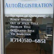 ... Photo Of Tranu0027s AutoRegistration   Garden Grove, CA, United States ...