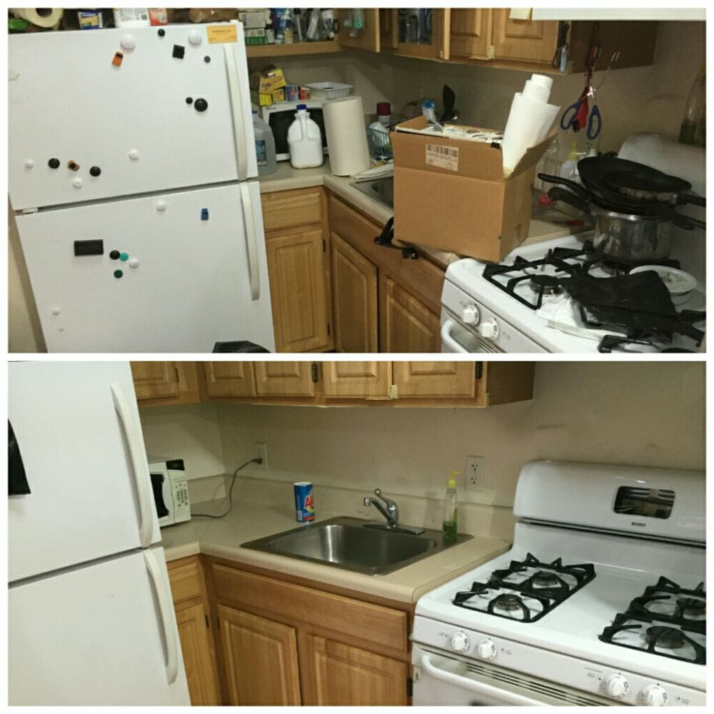 New Kitchen Before And After: Cluttered Kitchen Before And After