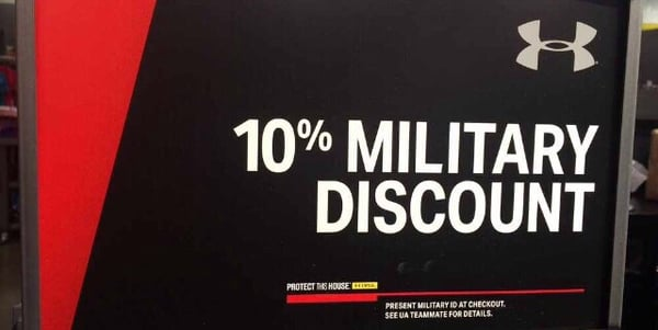Jul 26,  · Under Armour% off online and in-store for Active Duty, Retirees, Military Spouses, Military Family Members, as well as a 10% discount for .