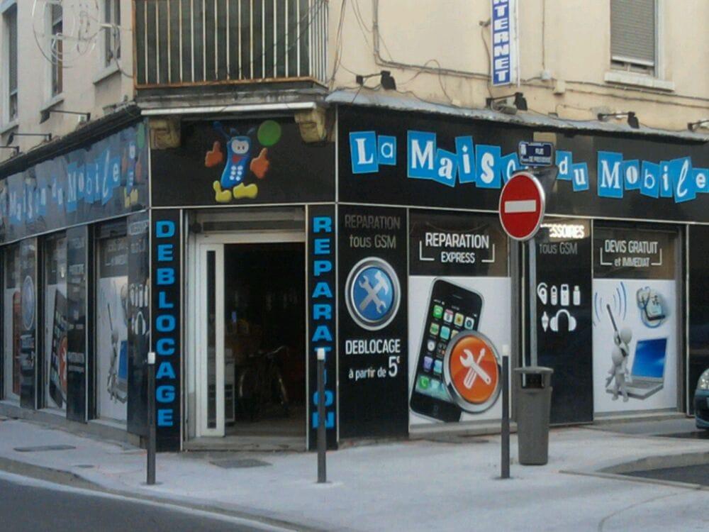 la maison du mobile mobile phones 56 rue gabriel p ri villeurbanne france phone number. Black Bedroom Furniture Sets. Home Design Ideas