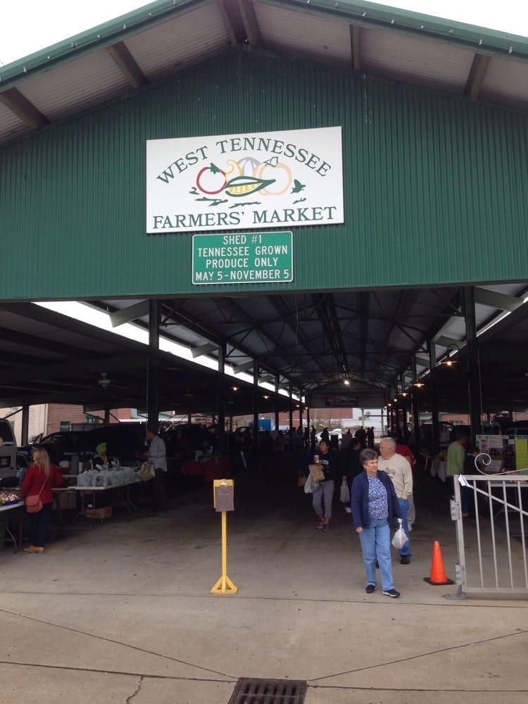 West Tennessee Farmer's Market: 91 New Market St, Jackson, TN
