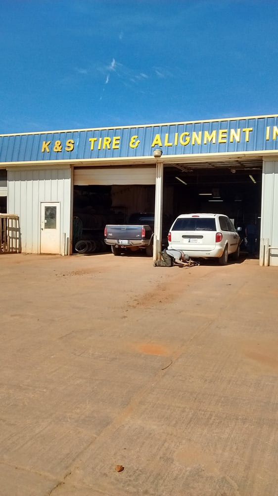 K & S Tire: 816 N Court, Kingfisher, OK
