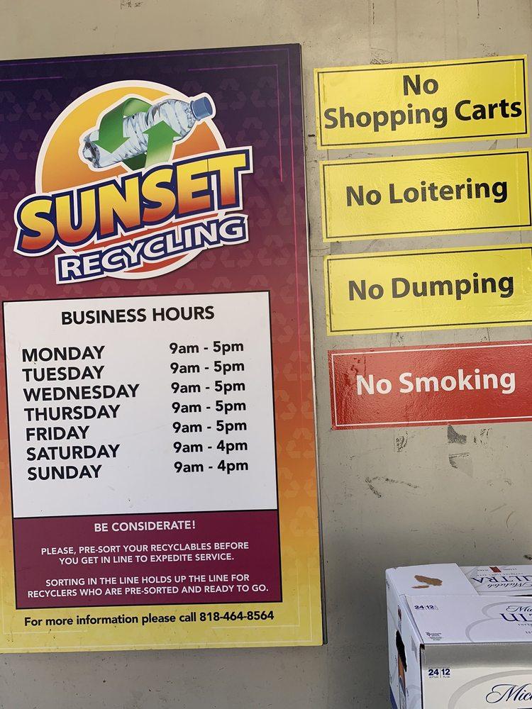 Sunset Recycling Center: 8626 Firestone Blvd, Downey, CA