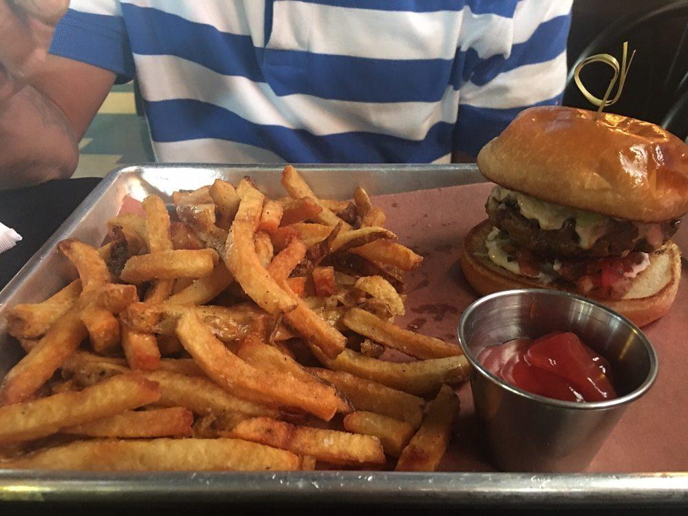 Food from 3 Jacks Burger Bar