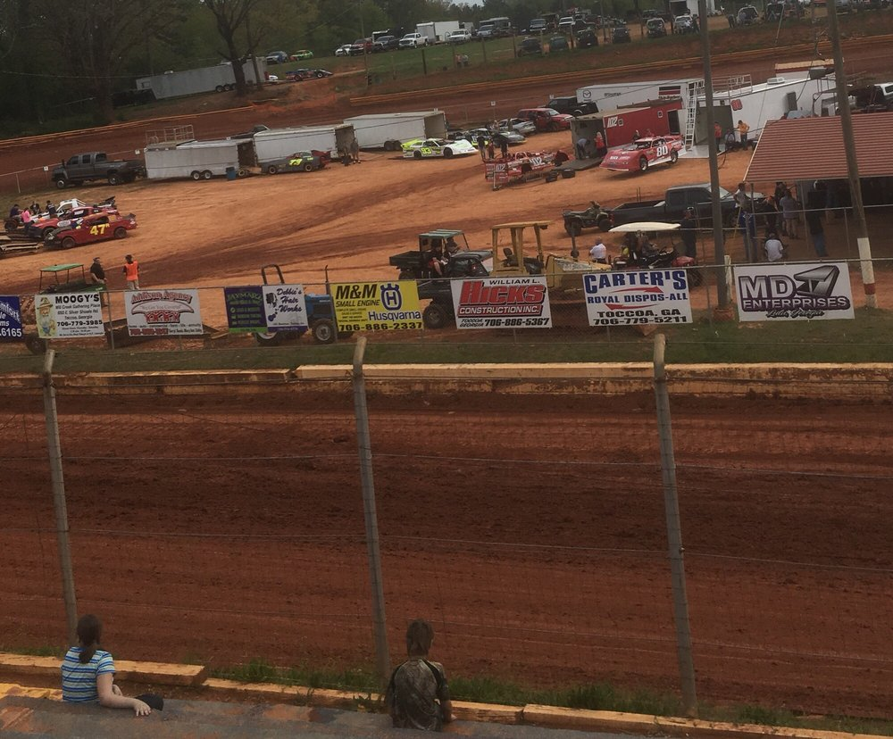 Social Spots from Toccoa Speedway
