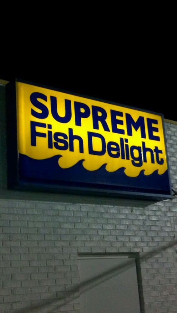 Supreme Fish Delight Takeaway Fast Food 1827