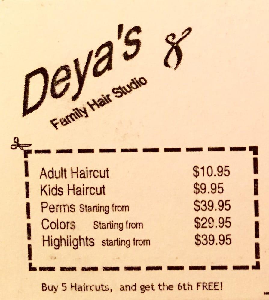 Deyas Family Hair Studio Hair Salons 35 N Tucson Blvd Sam