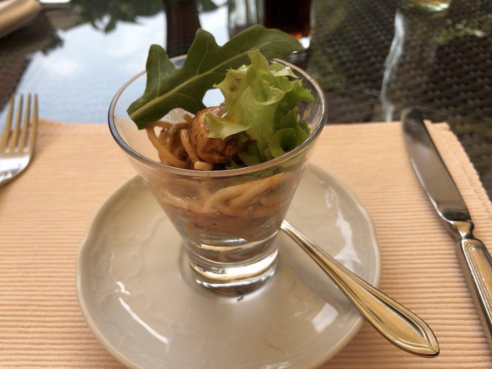 Ein Gruß aus der Küche. Spahettinisalat - Yelp