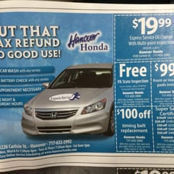 Photo Of Hanover Honda   Hanover, PA, United States. Look For Their Coupons