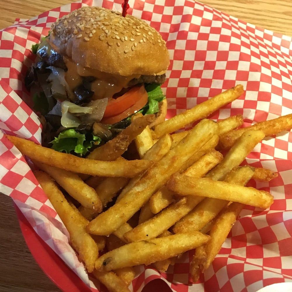 Quarter Pounder And Fries Quarter pound burger a...