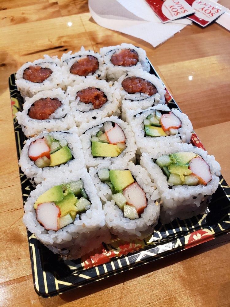 Food from Knobu Sushi