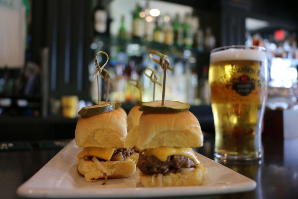 Photo of The Shannon Rose - Clifton, NJ, United States. Cheeseburgers Sliders