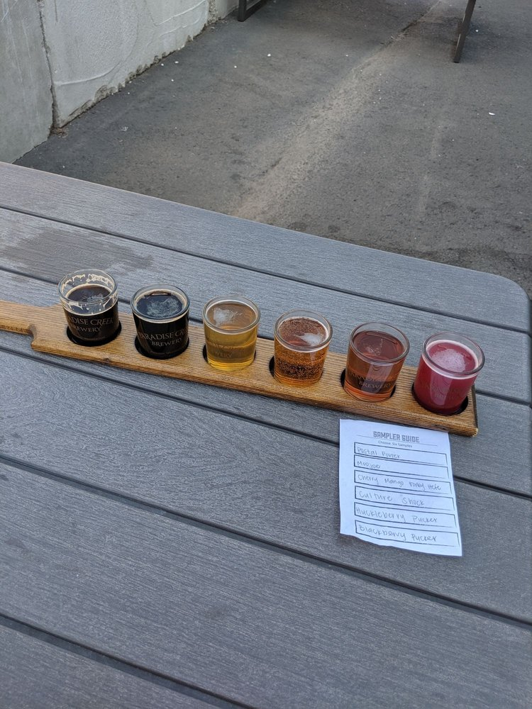 Paradise Creek Brewery Trailside Taproom: 505 SE Riverview St, Pullman, WA