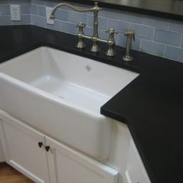 kitchen sinks jacksonville fl white cabinets with farm sink absolute black granite and 6078