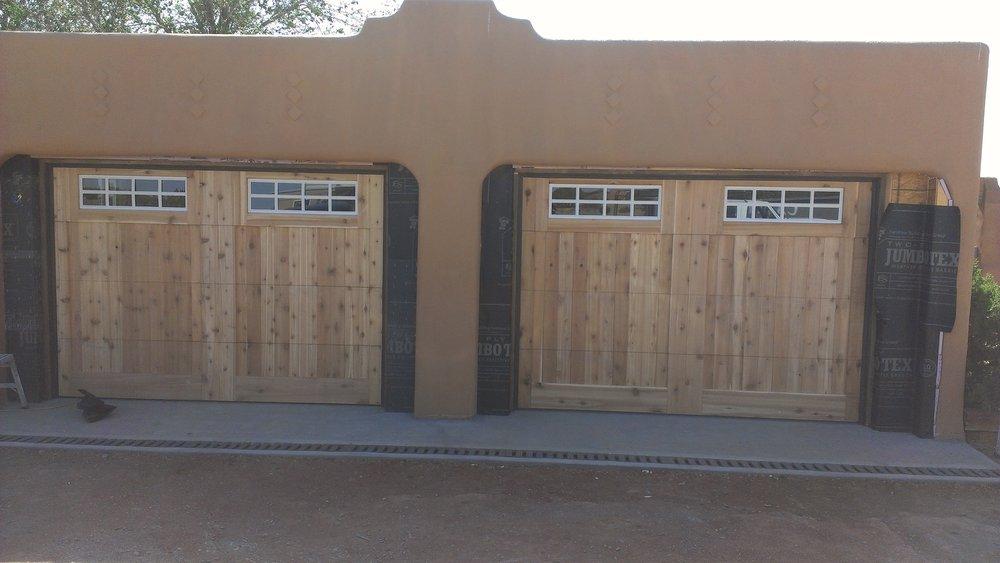 Mark s garage door services servizi per porte di garage for 2 piedi quadrati per garage