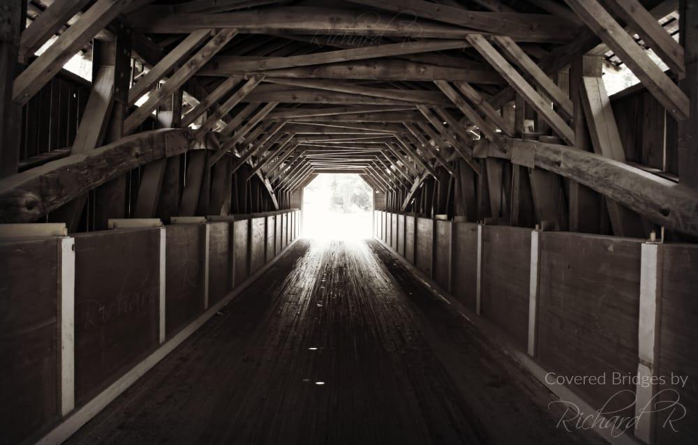 McGee's Mill Covered Bridge: Covered Bridge Rd, Mahaffey, PA