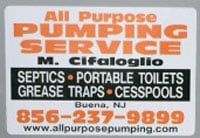 All Purpose Pumping Service, LLC: 724 S Harding Hwy, Buena, NJ