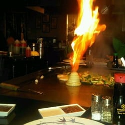 Photo Of Shirasoni Anese Steakhouse Bwood Ca United States Onion Volcano