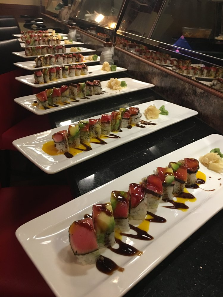 Food from Kobe's Japanese Steak House and Sushi Bar
