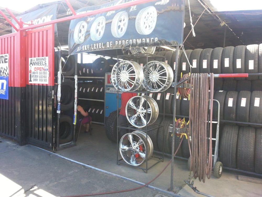 Performance Wheels & Tires: 7634 Pearblossom Hwy, Littlerock, CA