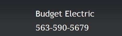 Budget Electric: 1112 Rhomberg Ave, Dubuque, IA