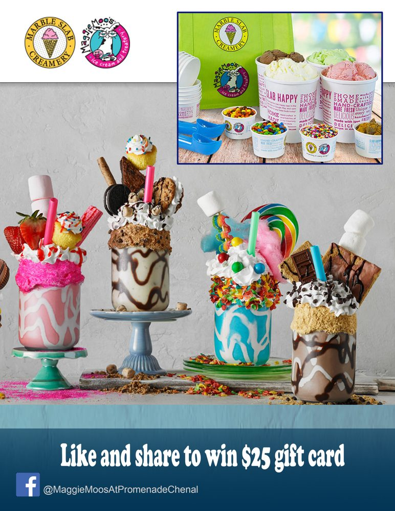 Maggie Moo's Ice Cream Eatery: 17821 Chenal Pkwy, Little Rock, AR