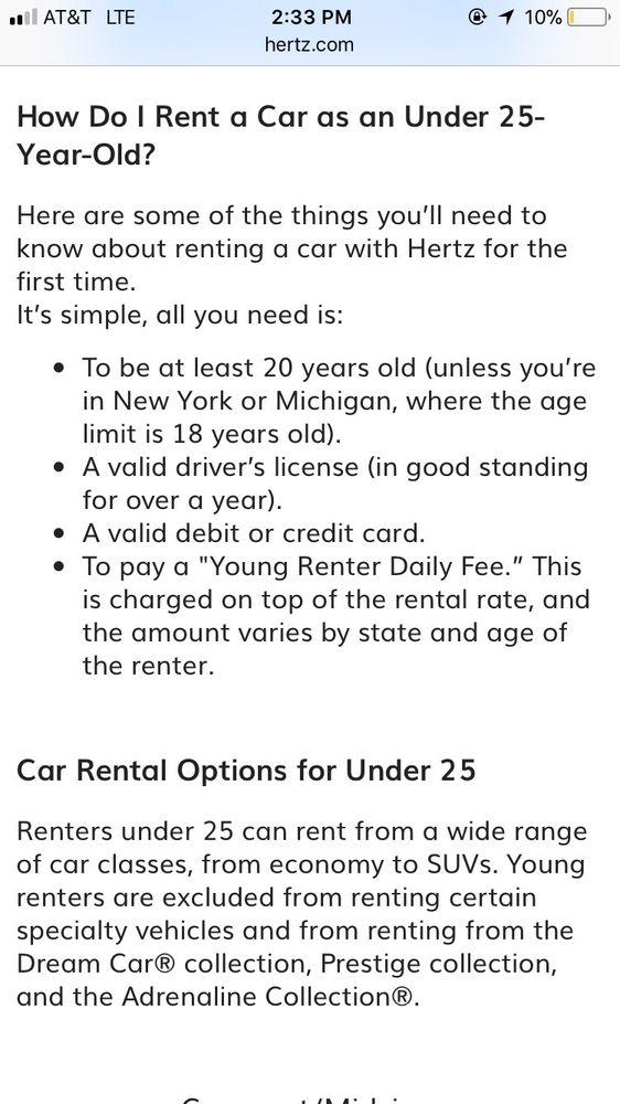 Hertz Rent A Car 20 Reviews Car Rental 11510 West Colfax Ave