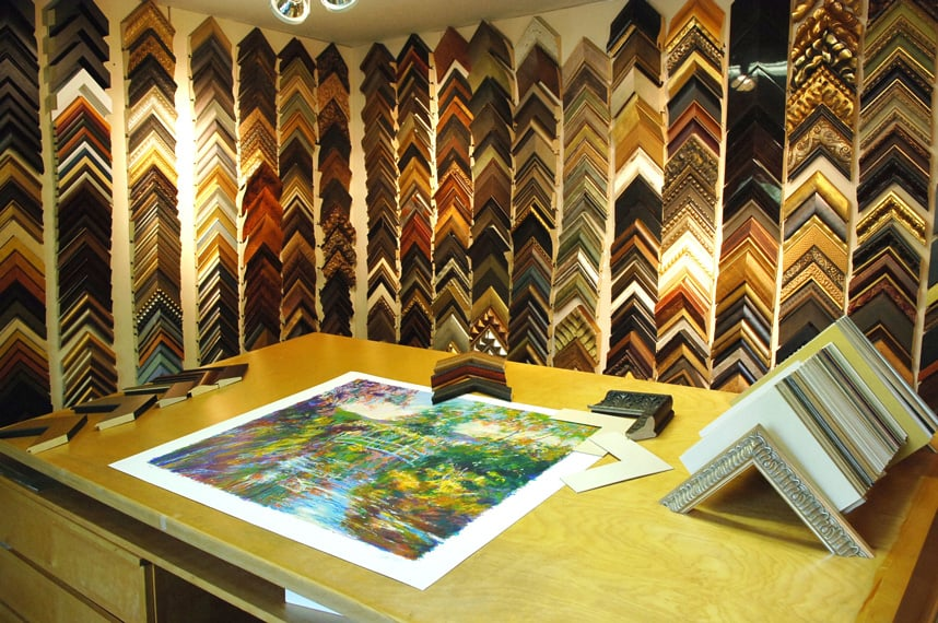Signature Custom Framing: 1550 Dell Ave, Campbell, CA