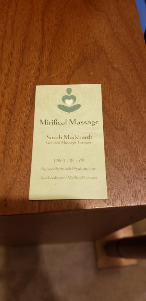 Mirifical Massage: 158 McCrae Rd, Fall River, WI