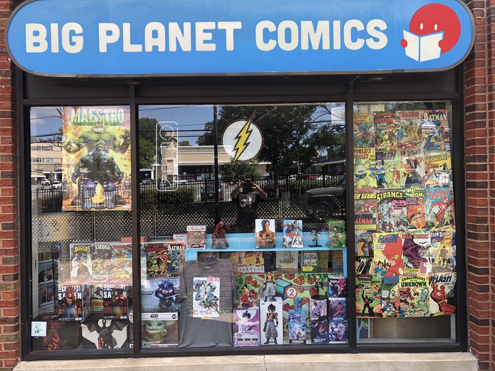 Big Planet Comics: 7315 Baltimore Ave, College Park, MD