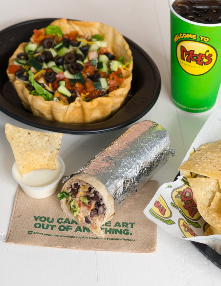 Moe's Southwest Grill: 6985 Nugget, Evansville, WY