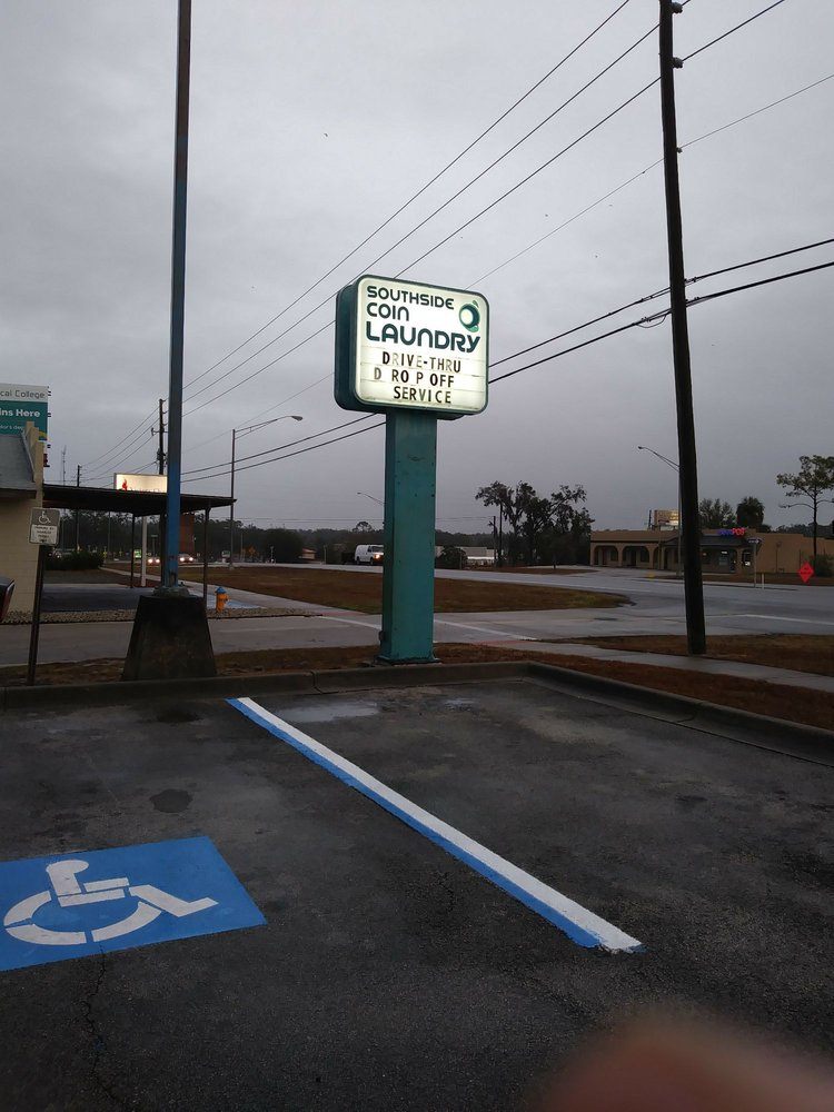 Southside Coin Laundry: 1200 S Woodland Blvd, DeLand, FL
