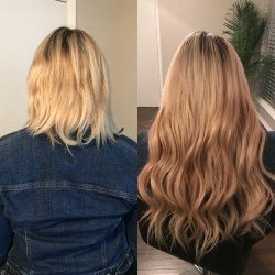Dallas microbead extensions hair extensions 5515 gaston ave photo of dallas microbead extensions dallas tx united states before and after pmusecretfo Image collections