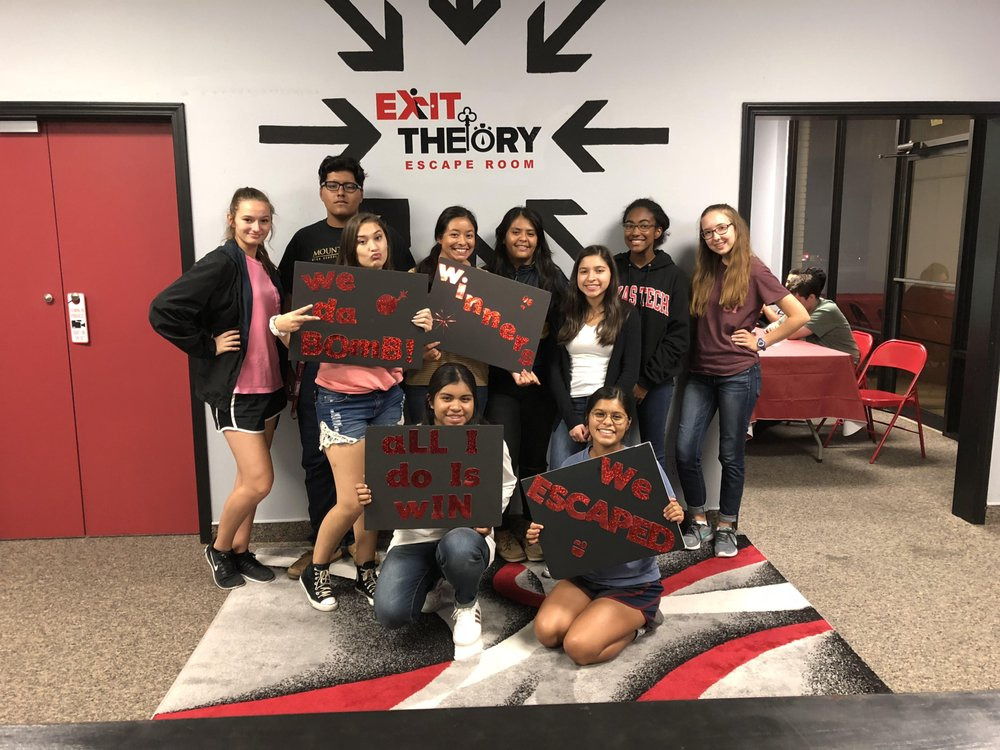 Social Spots from Exit Theory Escape Room